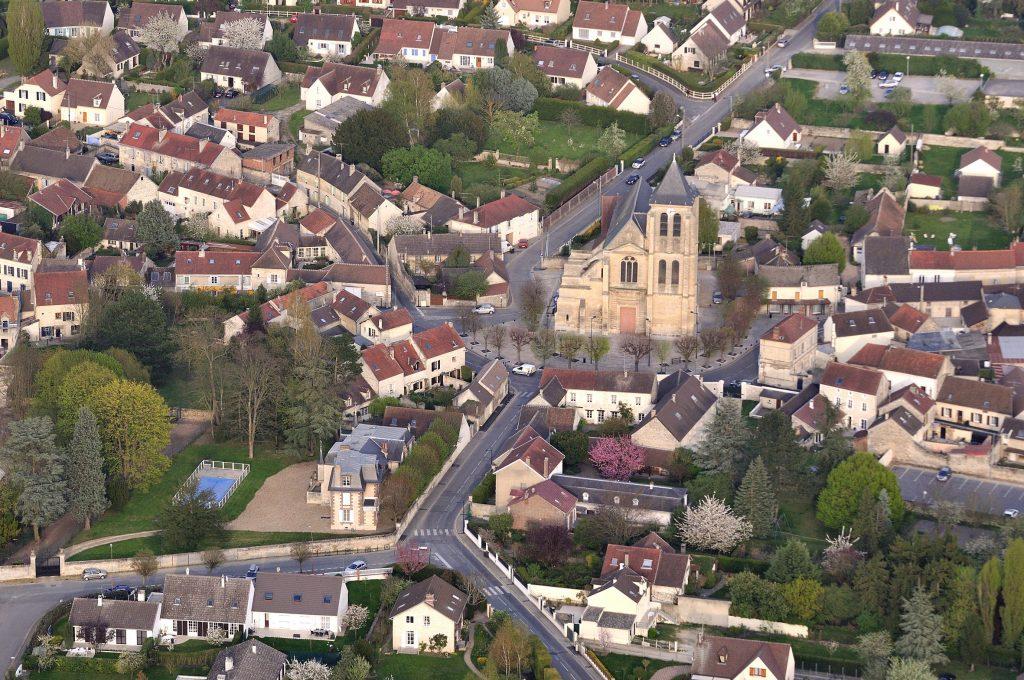 Vue de Gouvieux.
